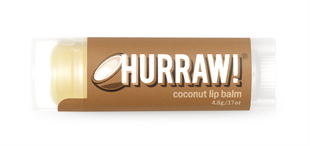 Hurraw! Coconut Lip Balm 4.3gr